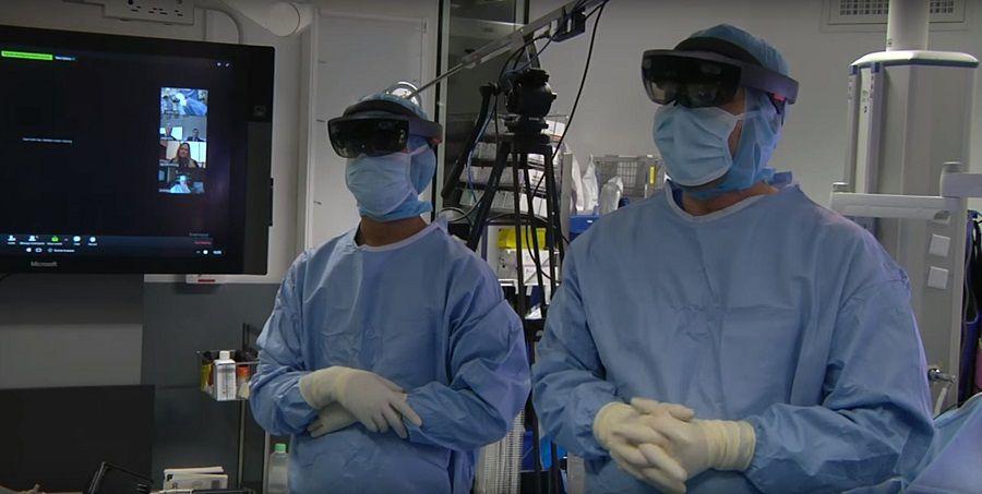 Suivez une opération en réalité augmentée en direct sur internet — Chirurgie