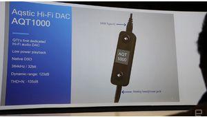 Aqstic AQT1000, le premier DAC USB-C de Qualcomm