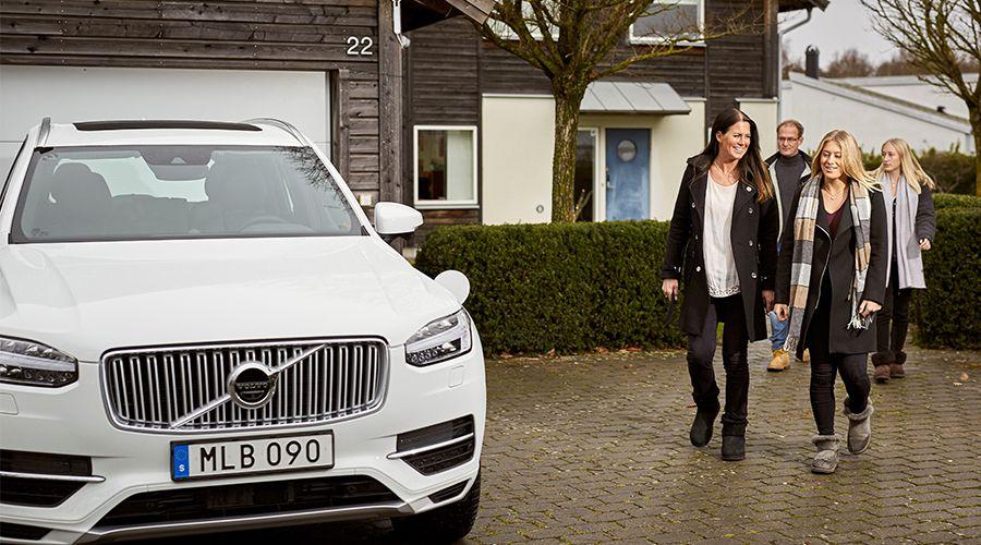 Volvo embauche des familles pour tester sa voiture autonome