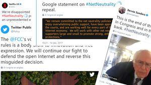 Neutralité du Net: les réactions de grands noms de la high-tech