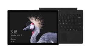 Bon plan – La Surface Pro à 899€ avec son clavier