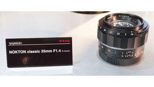 Le Voigtländer Nokton Classic 35 mm f/1,4 est disponible en monture E