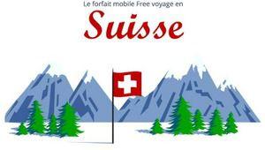 Forfait Free: itinérance étendue à la Suisse, mais seulement en data