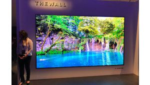 CES 2018 – Un téléviseur Micro-Led de 146 pouces chez Samsung