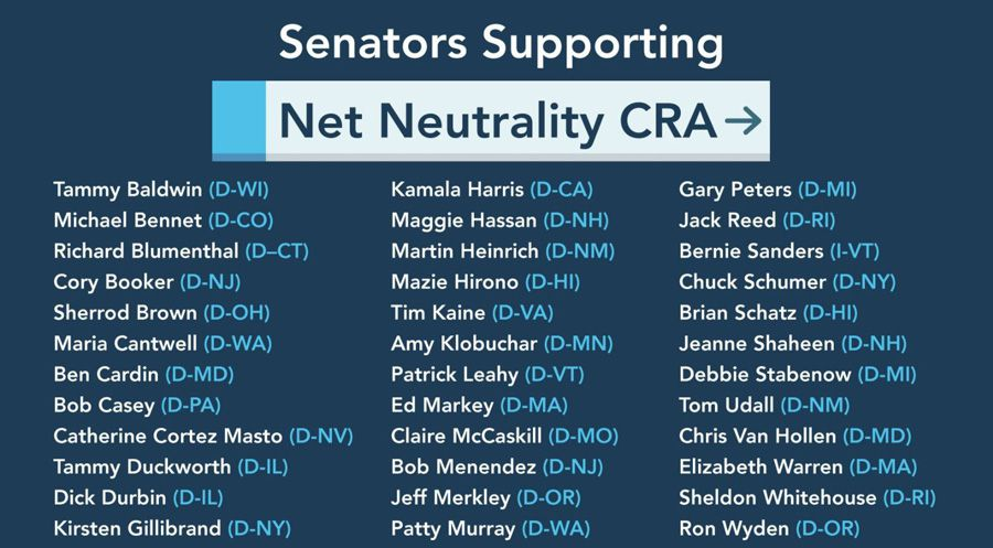 net neutrality cra list.JPG