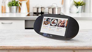 CES 2018 – JBL Link View, une enceinte intelligente avec écran tactile
