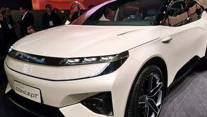 CES 2018 – SUV électrique Byton Concept, intelligent et ultra connecté