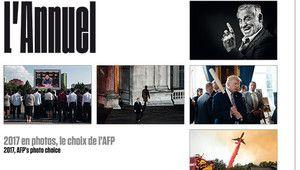 Découvrez les images marquantes de l'année 2017 vue par l'AFP