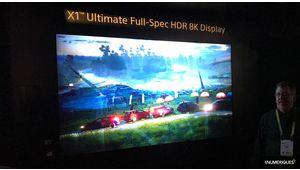 CES 2018 – Un premier téléviseur 8K HDR