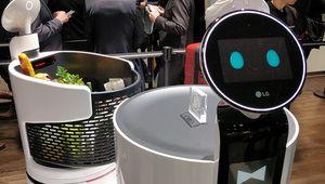 CES 2018 – LG présente ses robots intelligents nommés CLOi