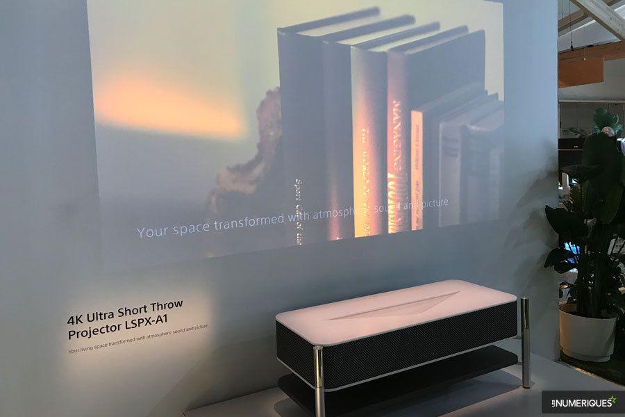 CES 2018 – Le vidéoprojecteur Sony 4K ultra-courte focale moins cher