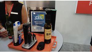 CES 2018 – Model Eleven, l'extracteur de vin connecté de Coravin