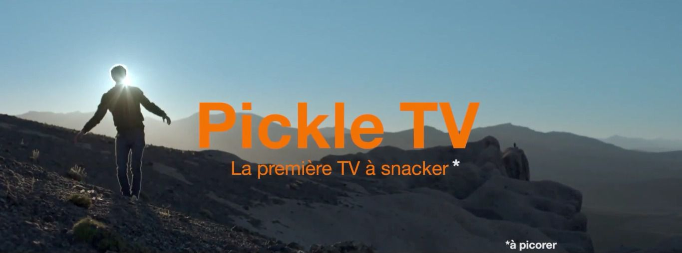 Pickle TV Screen