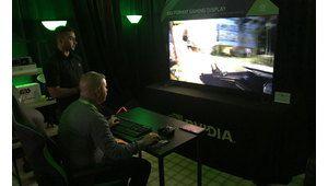 CES 2018 – On a essayé les moniteurs BFGD 65 pouces de Nvidia