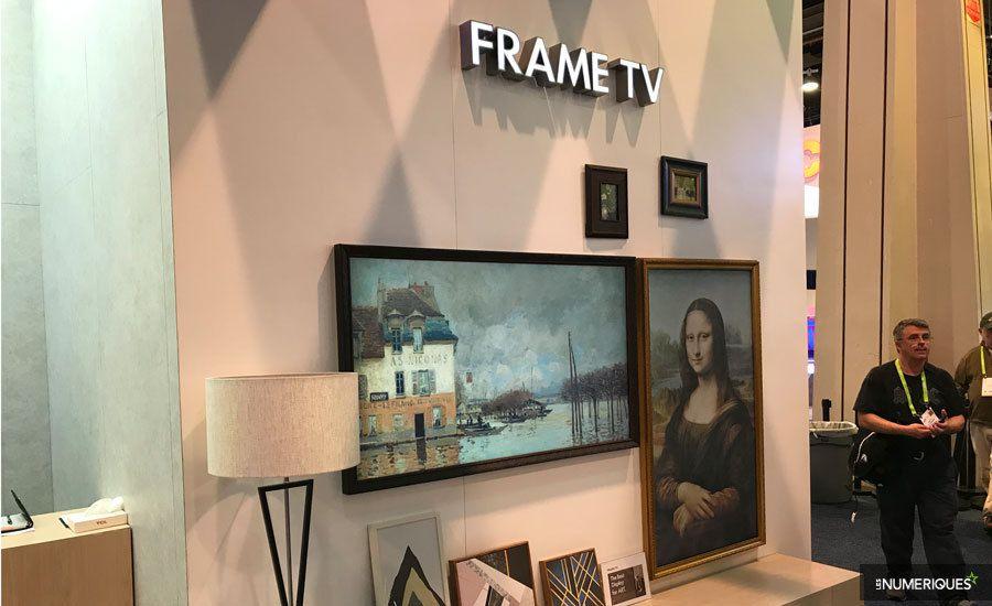 CES 2018 – Le téléviseur tableau Frame TV chez… TCL
