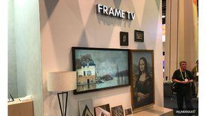 CES 2018 – Le téléviseur tableau Frame TV chez... TCL
