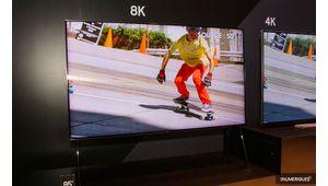 CES 2018 – Un téléviseur Samsung QLED 8K Full Micro-LED