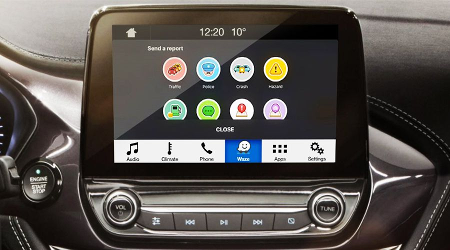 Waze s'invite dans l'info-divertissement Ford