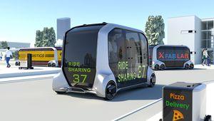 Toyota e-Palette Concept: l'e-commerce mobile à votre porte