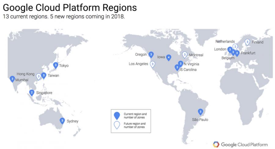 Google: trois nouveaux câbles sous-marins et de nouveaux data-centers