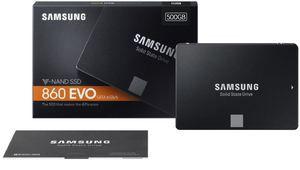 Samsung officialise ses SSD 860 Evo: jusqu'à 4 To garantis 5 ans