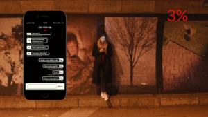 Die With Me: la messagerie des gens qui ont moins de 5% de batterie