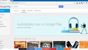 Bientôt des livres audio Google Play