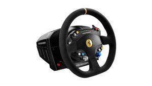 Un compte-tours à leds sur le volant TS-PC Racer Ferrari 488 Challenge