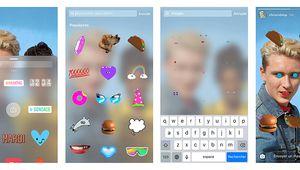 Instagram ajoute les GIF animés aux Stories