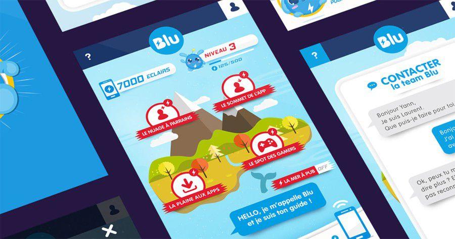 Prixtel lance (enfin) Blu, son forfait 4G gratuit financé par la pub