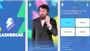 Flashbreak, le jeu de quiz sur iOS qui veut vous enrichir