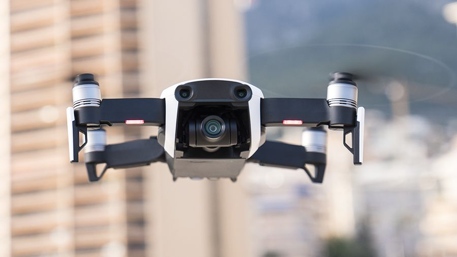 Mavic air face cam