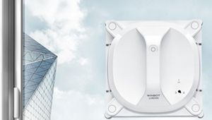 Winbot X: le robot laveur de vitres sans fil électrique d'Ecovacs
