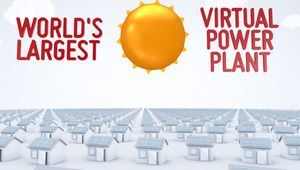 Tesla: une centrale solaire décentralisée en reliant 50000 maisons