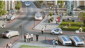 Bosch et Daimler vont tester des taxis autonomes