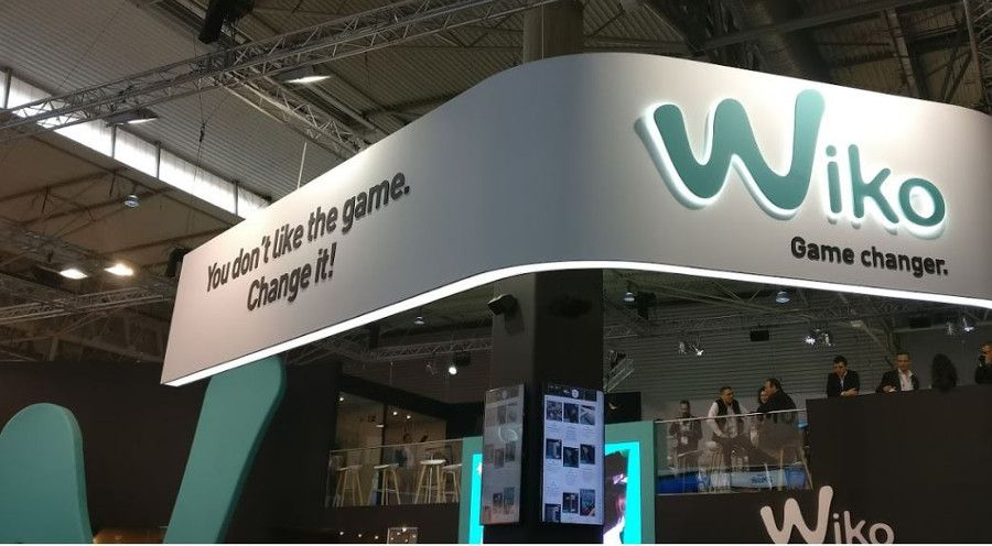 Stand Wiko au MWC 2017 Marco Mosca
