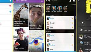 Snapchat bouleverse son ergonomie