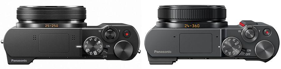 Panasonic TZ100 et TZ200