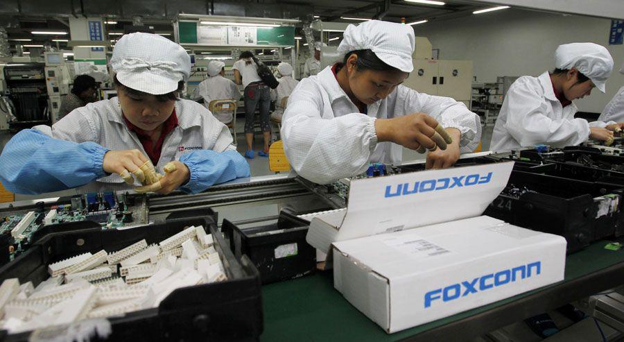 Les robots vont supprimer 10000 postes chez Foxconn cette année