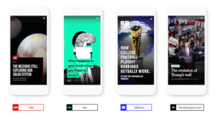 AMP Stories: Google s'inspire de Snapchat