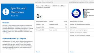 Microsoft développe un outil d'analyse pour Spectre et Meltdown