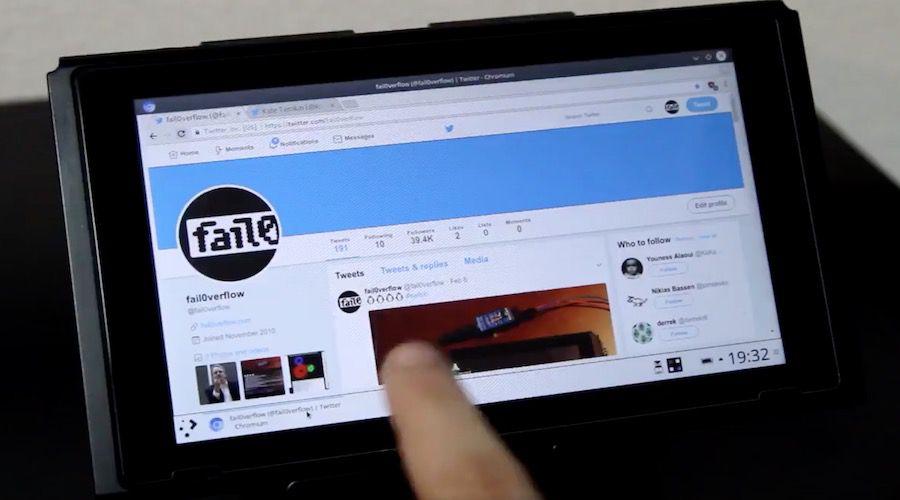Des hackers transforment la Nintendo Switch en tablette Linux