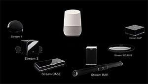 Les produits Cabasse Stream désormais pilotables via Google Home