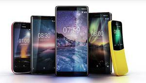 MWC 2018 – Nokia annonce 5 nouveaux mobiles, dont la réédition du 8110