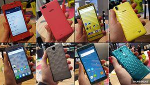 MWC 2018 – Écho présente 11 mobiles, dont des 18:9 à partir de 69€