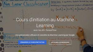 Google lance une plateforme pour enseigner le machine learning et l'IA