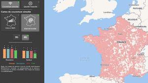 Couverture: les données du 1er janvier complètent la carte de l'Arcep