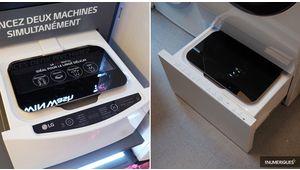 LG TwinWash Mini: un mini-lave-linge annexe façon Sidekick