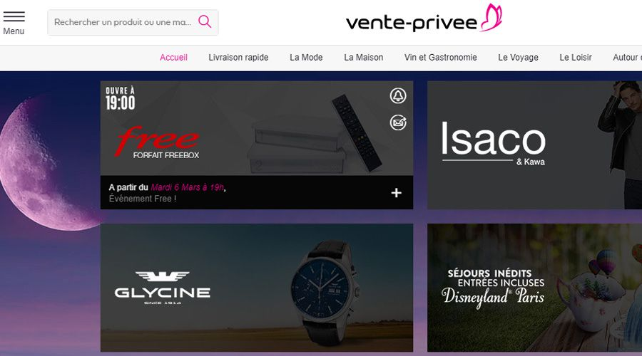 vente privee tv