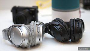 Labo – QC35 II: quels changements dans les performances sonores?